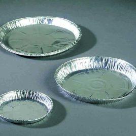 Aluminiumschalen rond