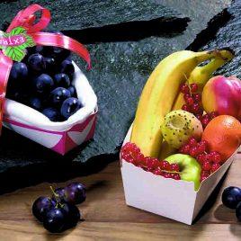 Fruitbakjes in karton