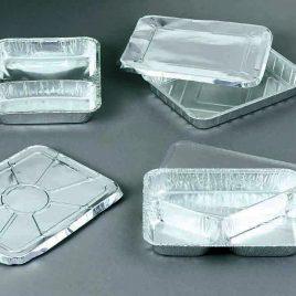 Aluminiumbakjes – menuschalen