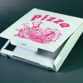 Pizzadozen – cuboxal – wit + standaard druk