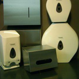 Dispensers handdoekrollen