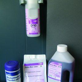 Onderhoudsprodukten – Desinfectie- & hygiënemiddelen