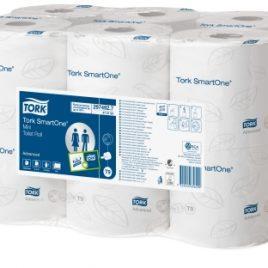 Toiletpapier voor dispensers T2-T4-T6-T7-T8-T9 Tork